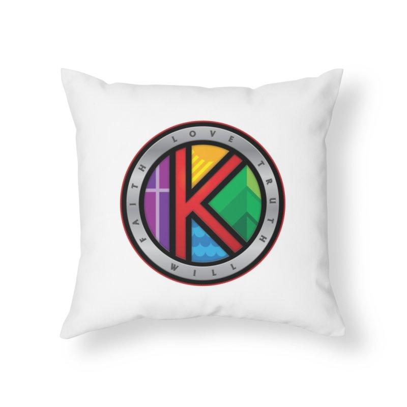 Krawczyk Family Seal Home Throw Pillow by Krawmart
