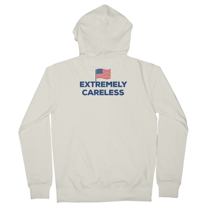 Extremely Careless Men's Zip-Up Hoody by Krawmart
