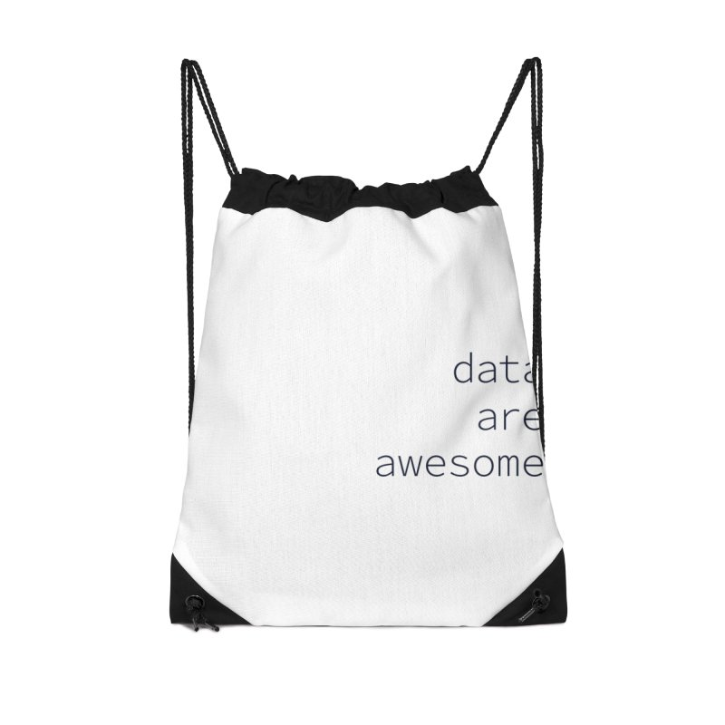 Data Are Awesome Accessories Bag by Krawmart