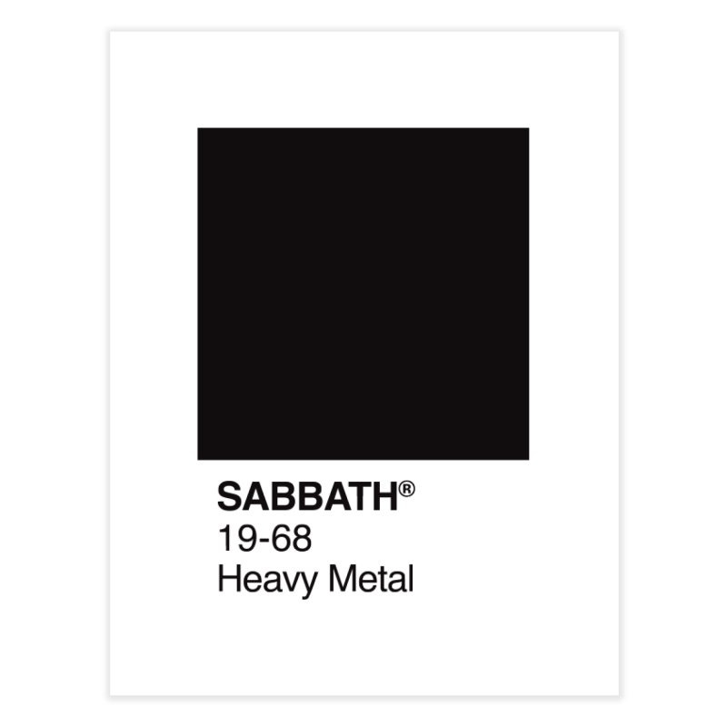 BLACK SABBATH Home Fine Art Print by kreadid's Artist Shop