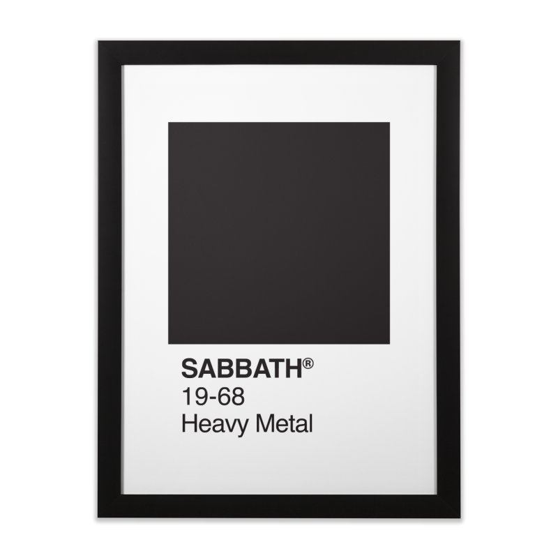 BLACK SABBATH Home Framed Fine Art Print by kreadid's Artist Shop