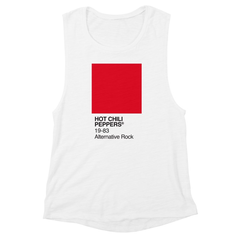 RED HOT CHILI PEPPERS Women's Muscle Tank by kreadid's Artist Shop