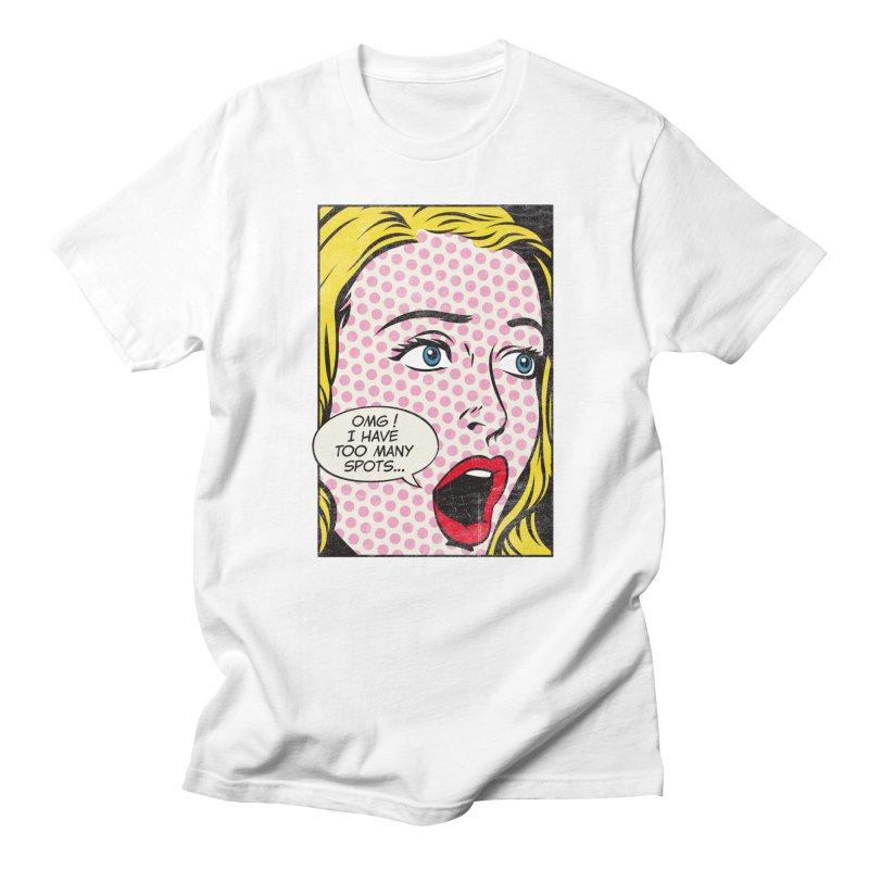 Spot Art Men's T-Shirt by kreadid's Artist Shop