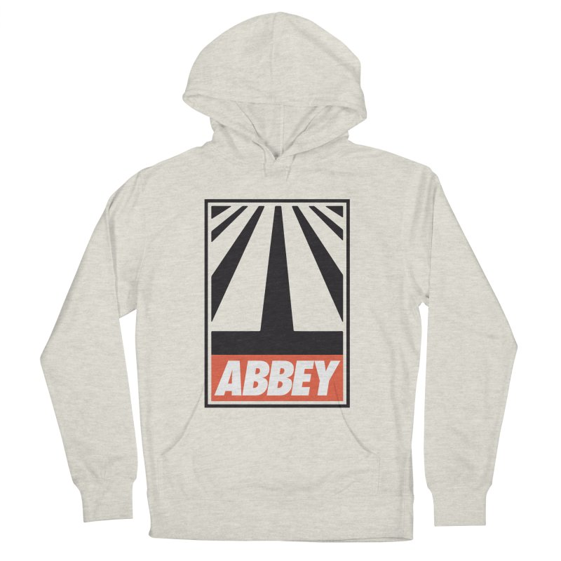 ABBEY in Men's Pullover Hoody Heather Oatmeal by kreadid's Artist Shop