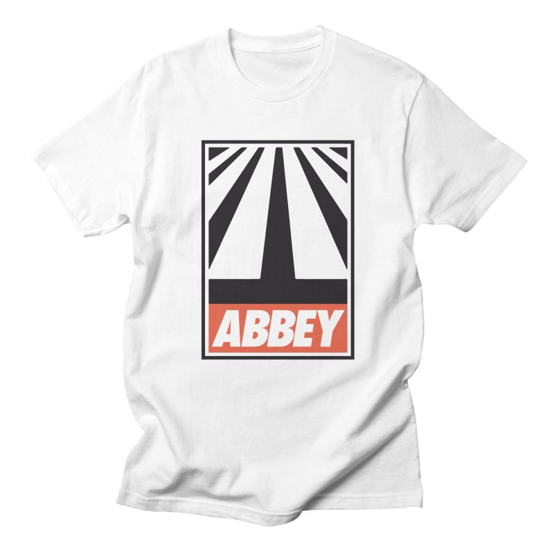 ABBEY Men's Regular T-Shirt by kreadid's Artist Shop