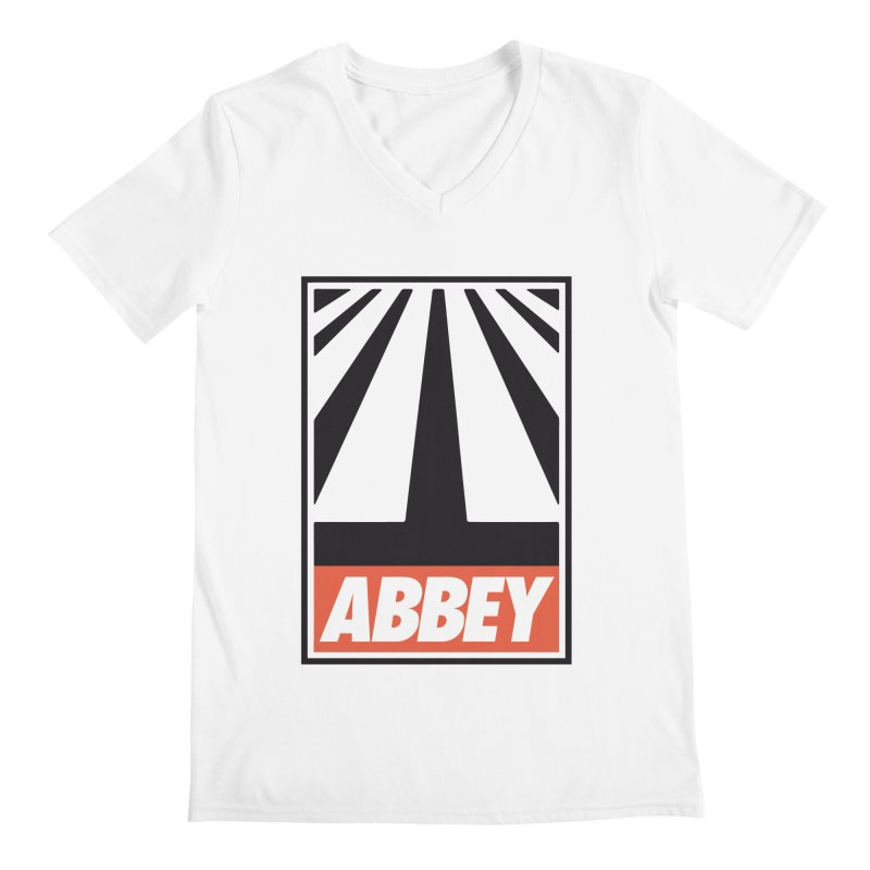 ABBEY Men's Regular V-Neck by kreadid's Artist Shop
