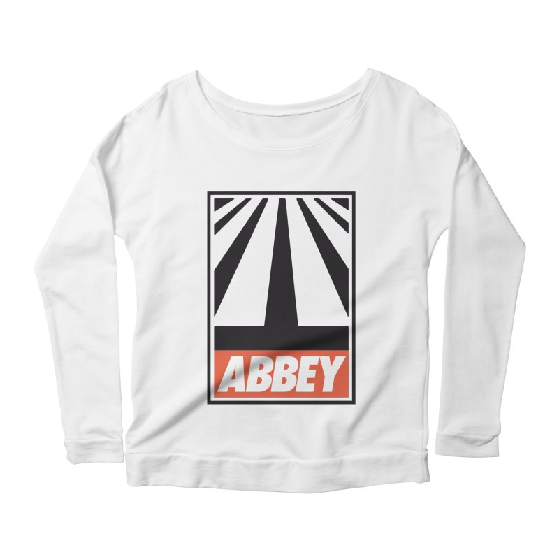 ABBEY Women's Scoop Neck Longsleeve T-Shirt by kreadid's Artist Shop