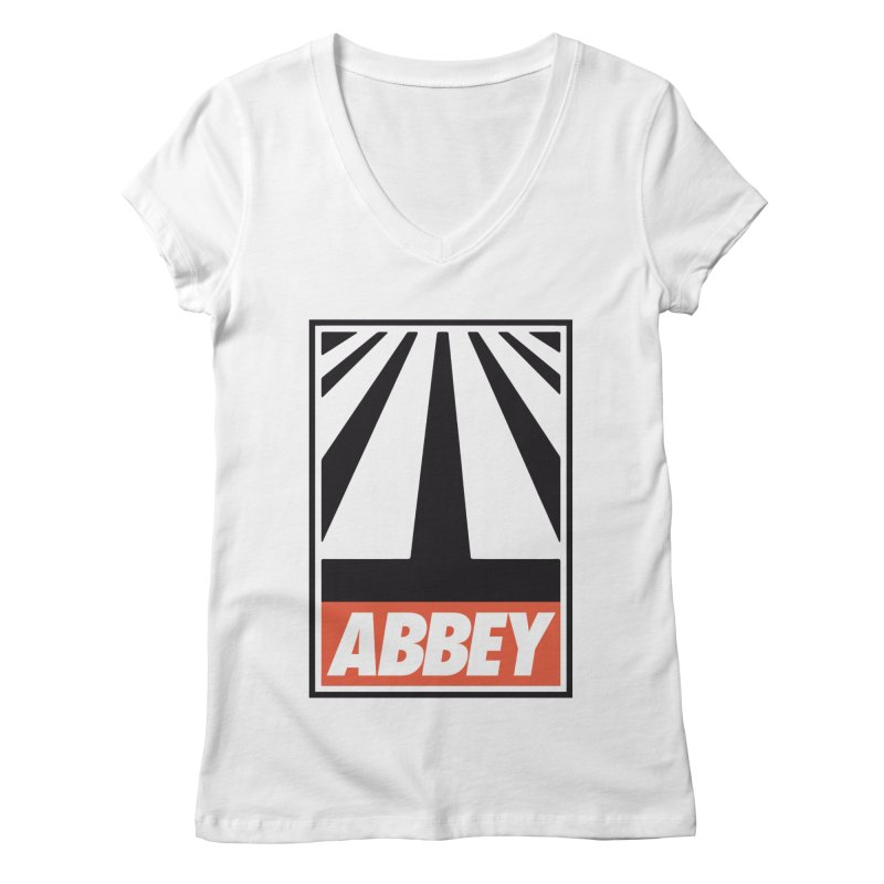 ABBEY Women's Regular V-Neck by kreadid's Artist Shop