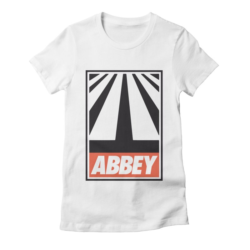 ABBEY Women's Fitted T-Shirt by kreadid's Artist Shop