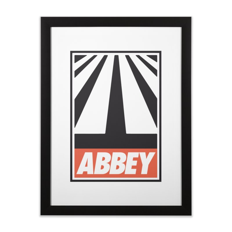 ABBEY Home Framed Fine Art Print by kreadid's Artist Shop