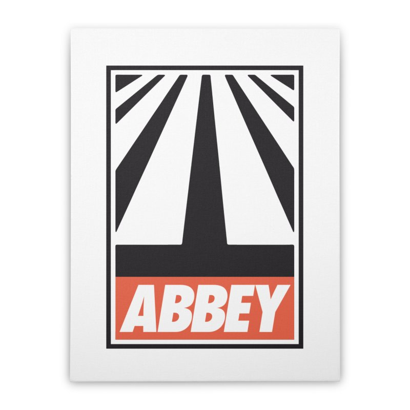 ABBEY Home Stretched Canvas by kreadid's Artist Shop