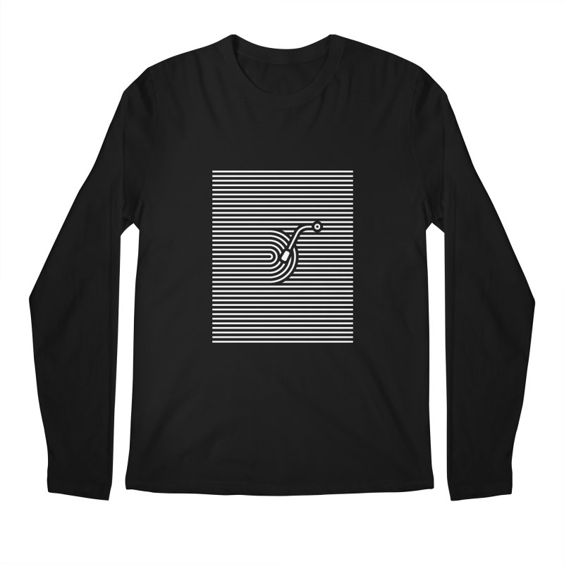 Stripes Song Men's Regular Longsleeve T-Shirt by kreadid's Artist Shop