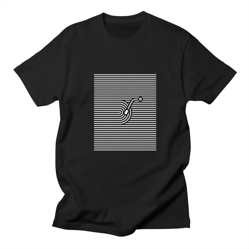 Stripes Song in Men's T-Shirt Black by kreadid's Artist Shop