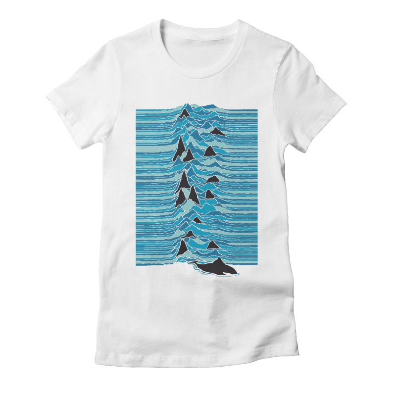 Orcas Ballet Women's Fitted T-Shirt by kreadid's Artist Shop