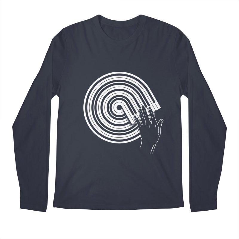 Scrath on Keyboard Men's Longsleeve T-Shirt by kreadid's Artist Shop