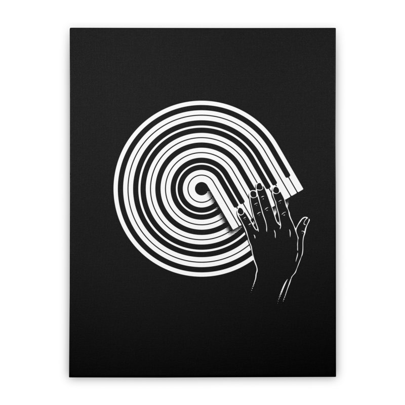 Scrath on Keyboard Home Stretched Canvas by kreadid's Artist Shop
