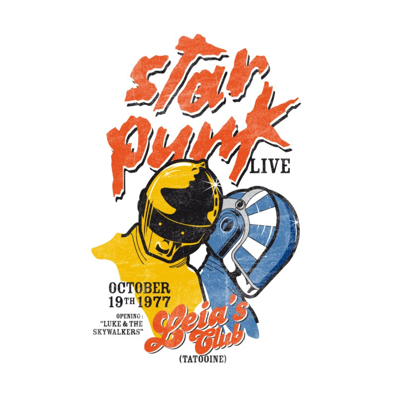 Star Punk Live by kreadid's Artist Shop