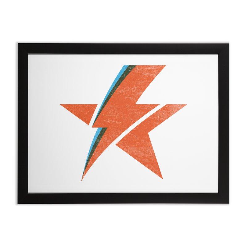 ROCK STAR Home Framed Fine Art Print by kreadid's Artist Shop