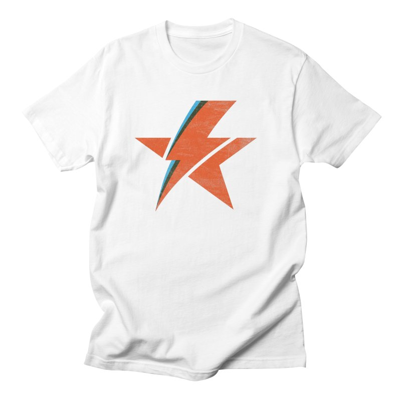 ROCK STAR in Men's T-Shirt White by kreadid's Artist Shop