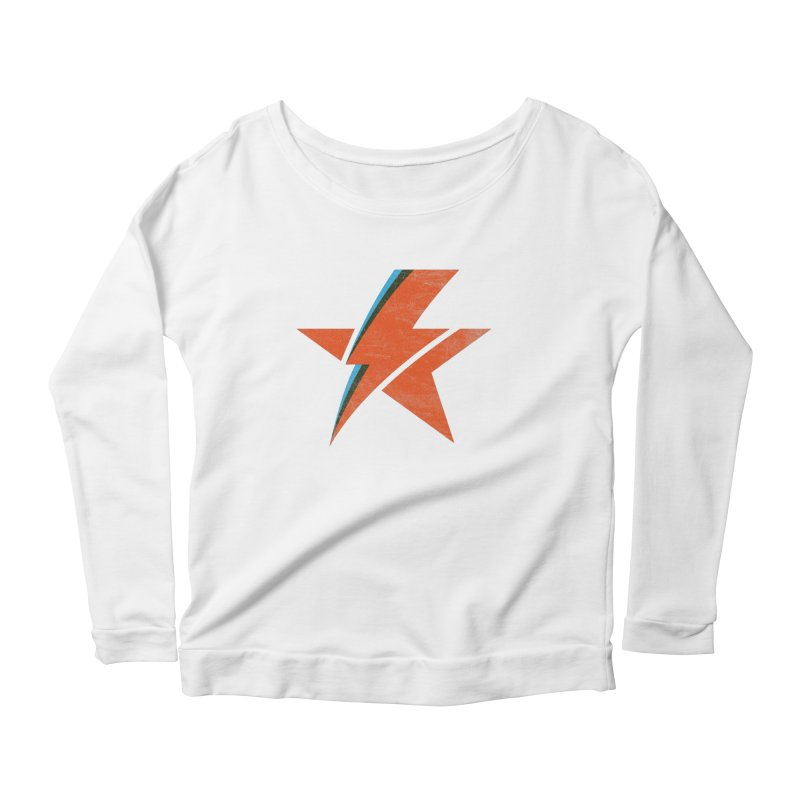 ROCK STAR Women's Scoop Neck Longsleeve T-Shirt by kreadid's Artist Shop
