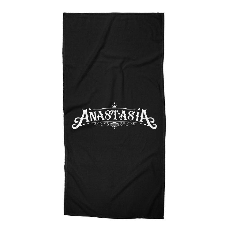 Anastasia Accessories Beach Towel by kreasimalam's Artist Shop