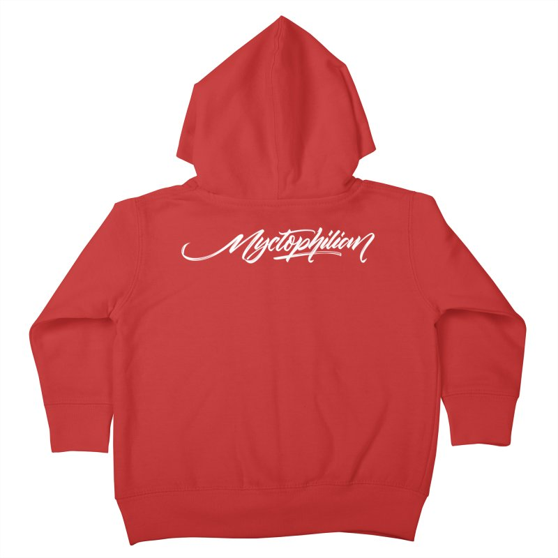 Nyctophilian Kids Toddler Zip-Up Hoody by kreasimalam's Artist Shop
