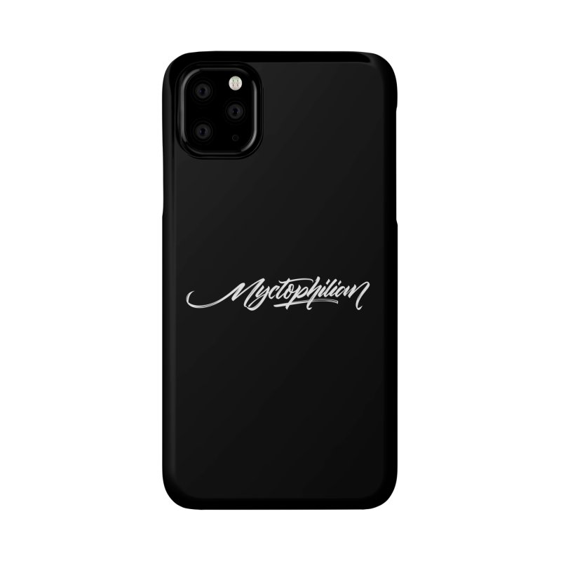 Nyctophilian Accessories Phone Case by kreasimalam's Artist Shop