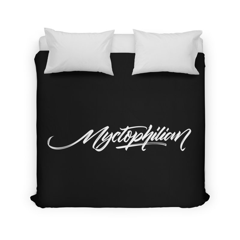 Nyctophilian Home Duvet by kreasimalam's Artist Shop