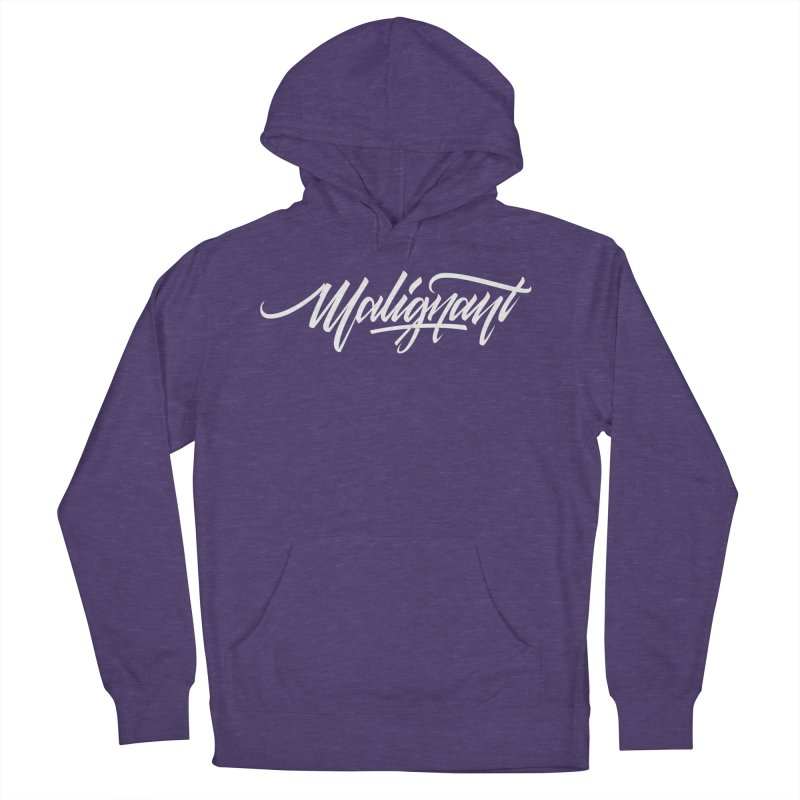 Malignant Men's French Terry Pullover Hoody by kreasimalam's Artist Shop