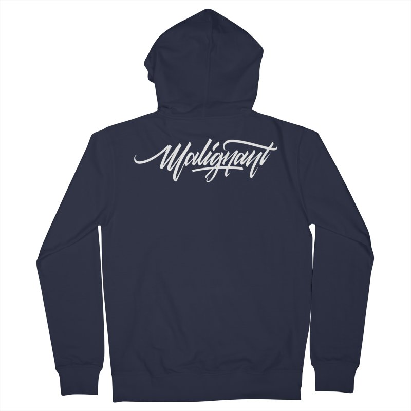 Malignant Women's French Terry Zip-Up Hoody by kreasimalam's Artist Shop