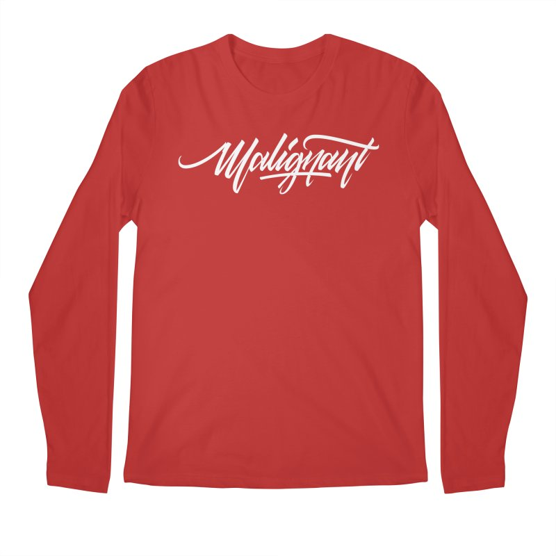 Malignant Men's Regular Longsleeve T-Shirt by kreasimalam's Artist Shop