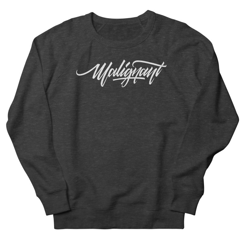 Malignant Men's French Terry Sweatshirt by kreasimalam's Artist Shop