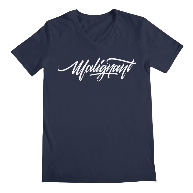 Malignant Men's Regular V-Neck by kreasimalam's Artist Shop