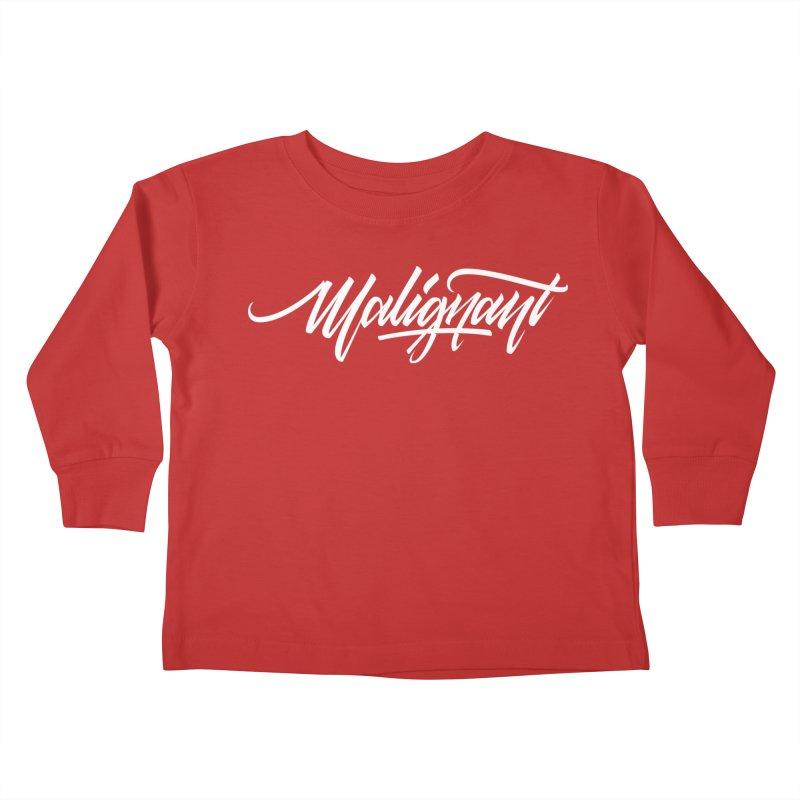 Malignant Kids Toddler Longsleeve T-Shirt by kreasimalam's Artist Shop