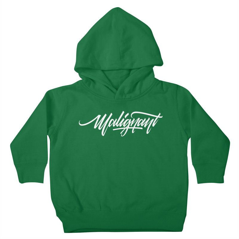 Malignant Kids Toddler Pullover Hoody by kreasimalam's Artist Shop