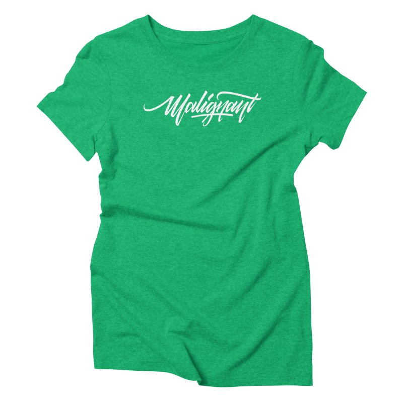 Malignant Women's Triblend T-Shirt by kreasimalam's Artist Shop