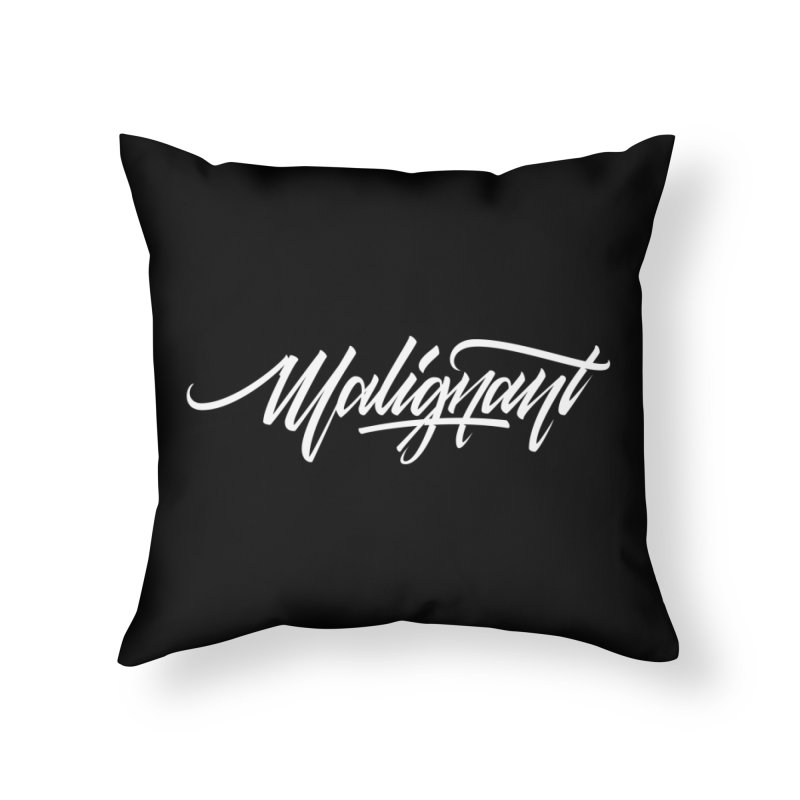 Malignant Home Throw Pillow by kreasimalam's Artist Shop