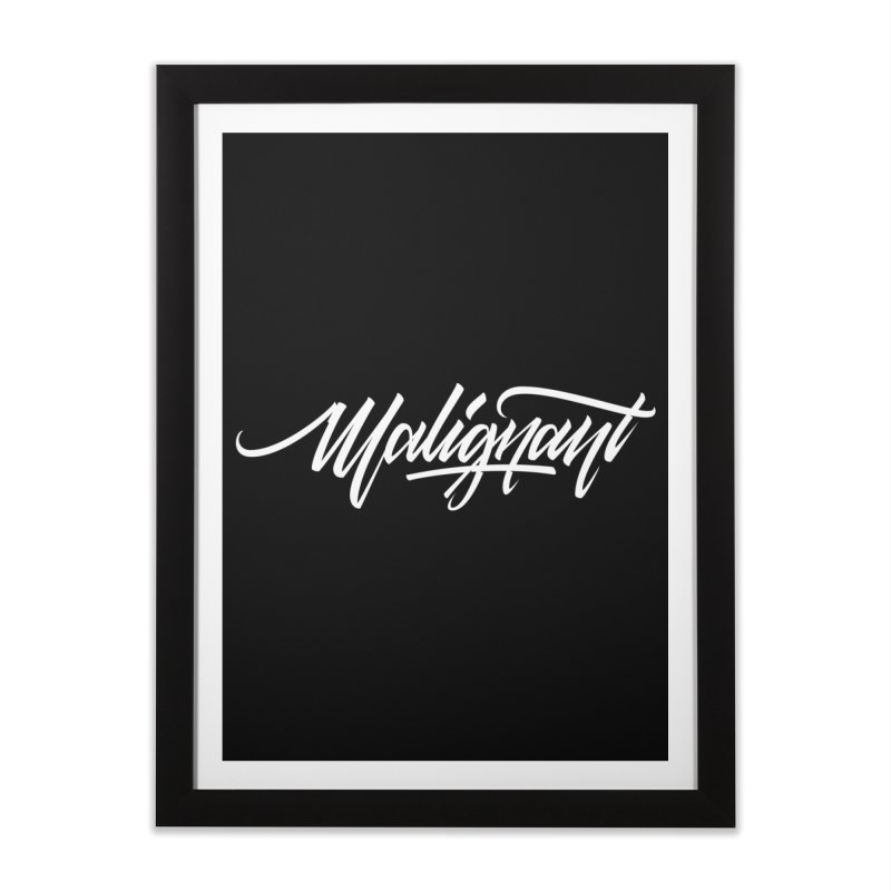 Malignant Home Framed Fine Art Print by kreasimalam's Artist Shop