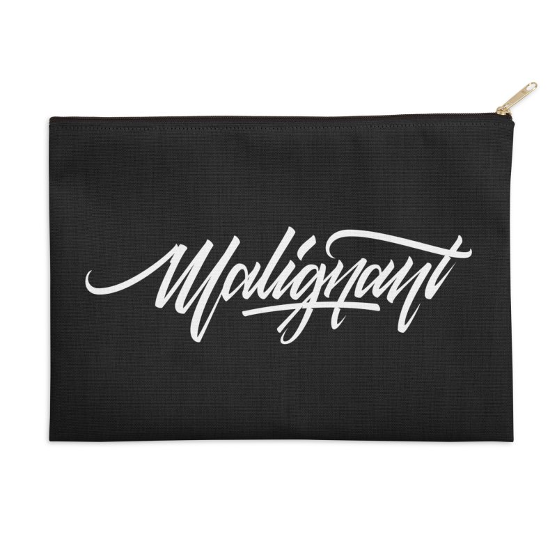 Malignant Accessories Zip Pouch by kreasimalam's Artist Shop