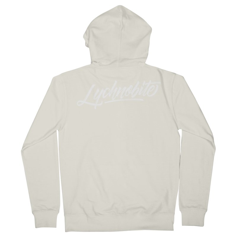 Lychnobite Men's French Terry Zip-Up Hoody by kreasimalam's Artist Shop