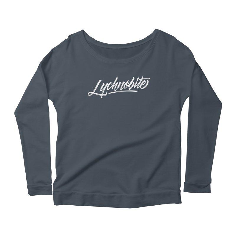 Lychnobite Women's Scoop Neck Longsleeve T-Shirt by kreasimalam's Artist Shop
