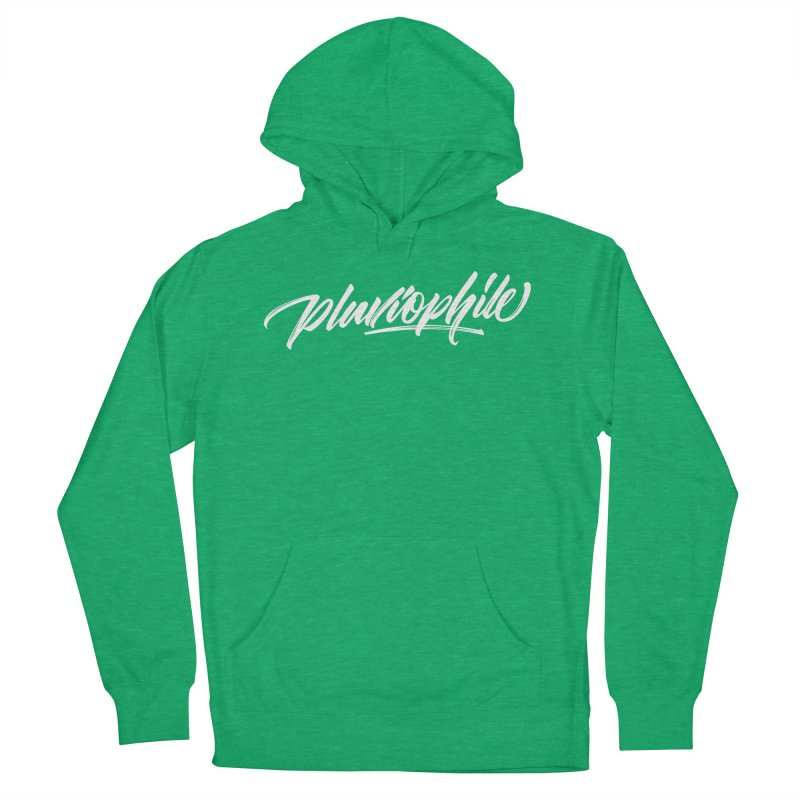 Pluviophile Women's Pullover Hoody by kreasimalam's Artist Shop