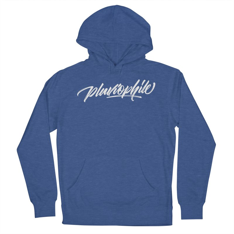 Pluviophile Men's French Terry Pullover Hoody by kreasimalam's Artist Shop