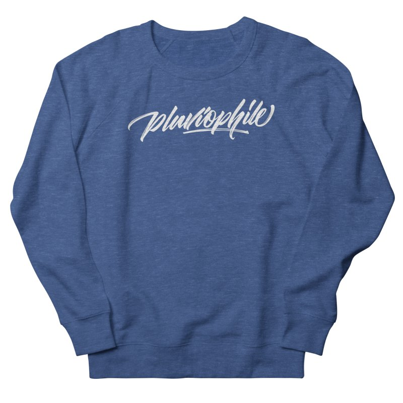 Pluviophile Men's French Terry Sweatshirt by kreasimalam's Artist Shop