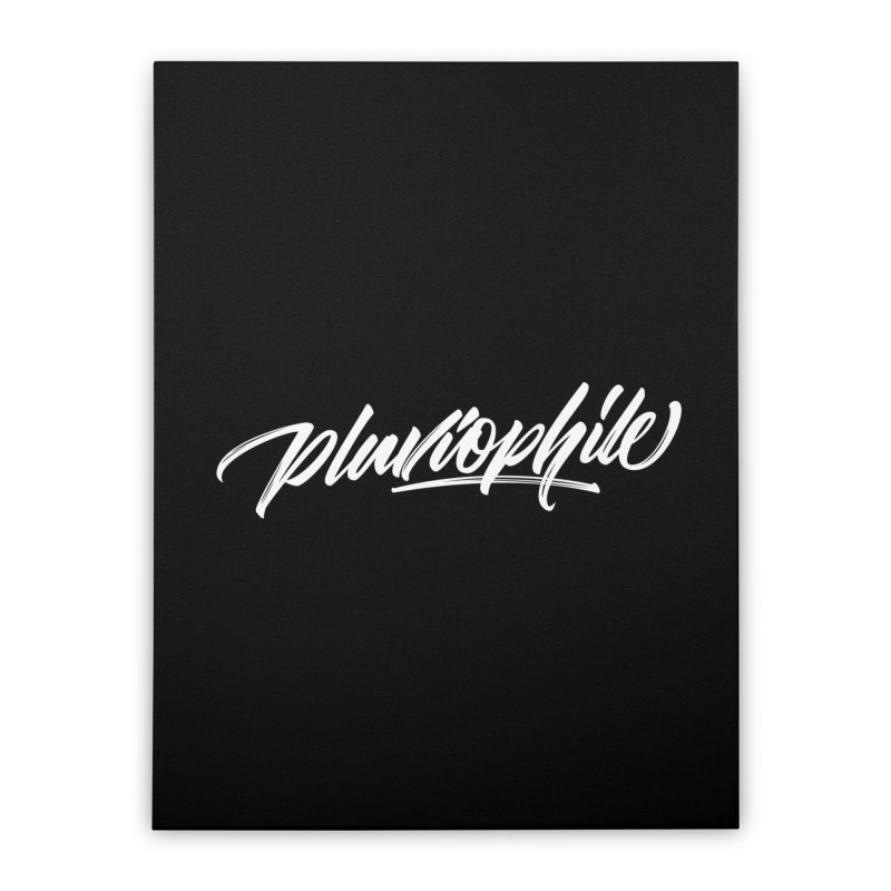 Pluviophile Home Stretched Canvas by kreasimalam's Artist Shop