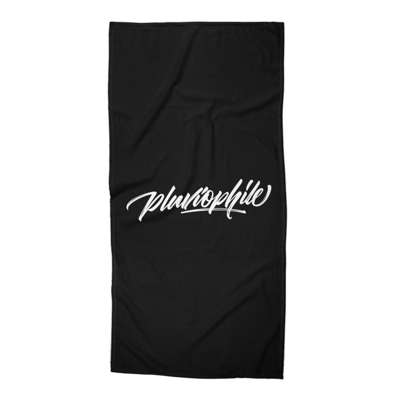 Pluviophile Accessories Beach Towel by kreasimalam's Artist Shop