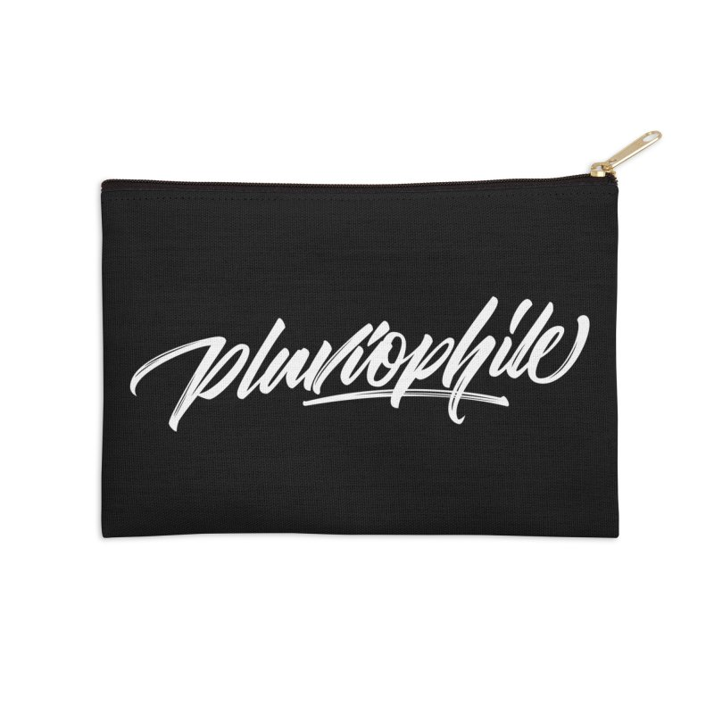 Pluviophile Accessories Zip Pouch by kreasimalam's Artist Shop