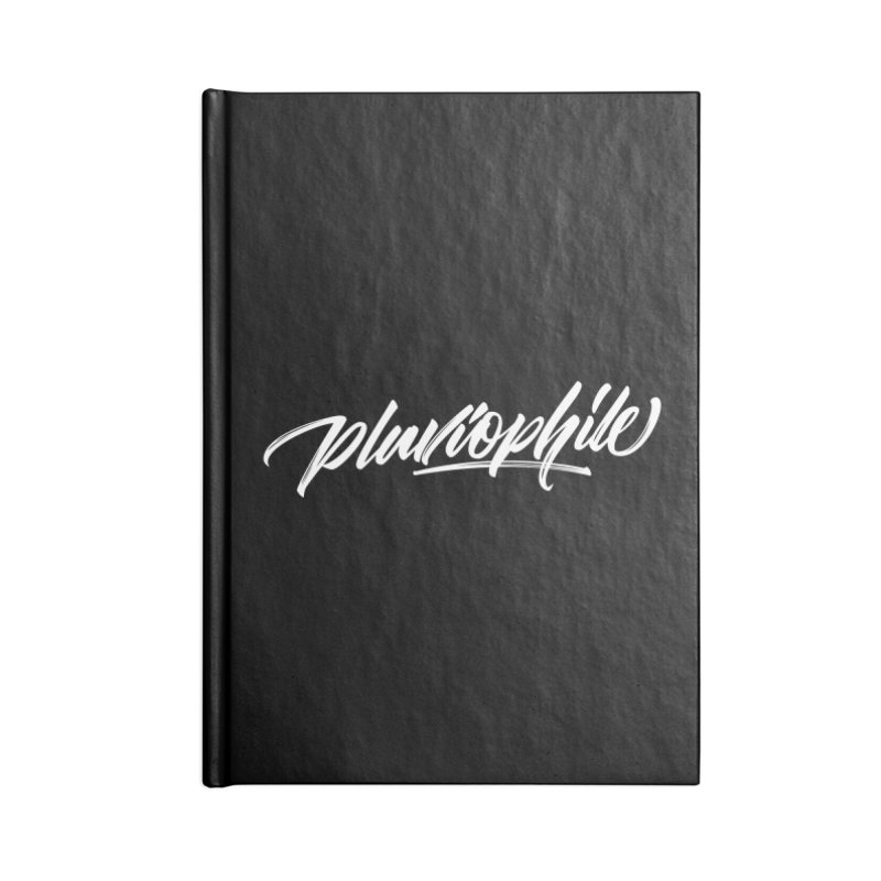 Pluviophile Accessories Lined Journal Notebook by kreasimalam's Artist Shop