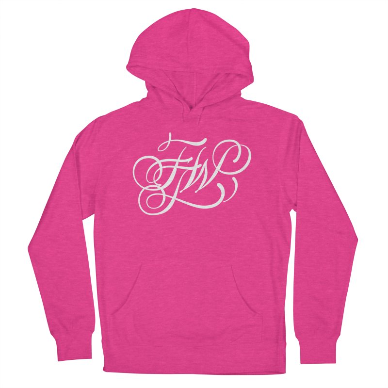 FTW Monogram Women's French Terry Pullover Hoody by kreasimalam's Artist Shop