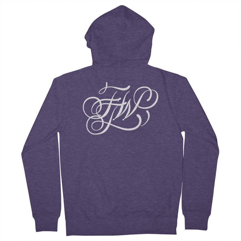 FTW Monogram Men's Zip-Up Hoody by kreasimalam's Artist Shop